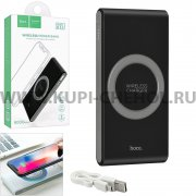 Power Bank 8000 mAh Hoco B32 Wireless Black