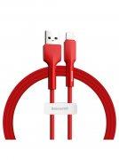Кабель USB-iP Baseus Silica Gel Red 1m 2.4A