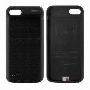 Чехол+АКБ Apple iPhone 7 2500 mAh Baseus Black