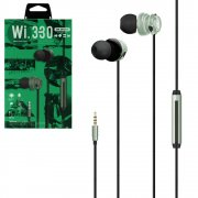 Наушники WK WI330 Green