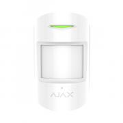 Датчик движения и разбития стекла с иммунитетом к животным Ajax CombiProtect White