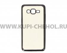 Чехол-накладка Samsung Galaxy Grand Prime G530h Hallsen прозрачный с черными краями без логотипа