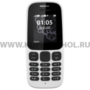Телефон NOKIA 105 DS 2017 White