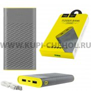 Power Bank 20000 mAh Hoco B18 Grey