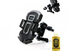 Автодержатель в воздуховод Remax RM-C14 Black/Gray