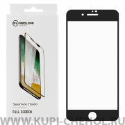 Защитное стекло Apple iPhone 7 Plus Red Line Full Glue черное матовое 0.33mm
