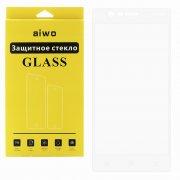 Защитное стекло NOKIA 3 Aiwo Full Screen белое 0.33mm