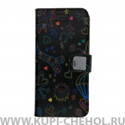Чехол-книжка Apple iPhone 5/5S/SE Kukuxumusu 153 Corazon