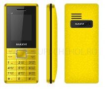 Телефон Maxvi C7 Yellow - Black