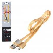 Кабель USB-Type-C Remax RC-044a золотой