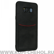 Чехол-накладка Samsung Galaxy S8 Plus Ilevel черный