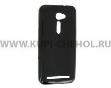 Чехол силиконовый ASUS Zenfone 2 ZE500CL X черный матовый 0.8mm