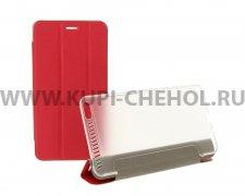 Чехол откидной Lenovo Phab Plus PB1-770M Trans Cover красный
