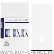 Защитное стекло Samsung Galaxy Note 10+ DF Full Screen 3D черное 0.33mm
