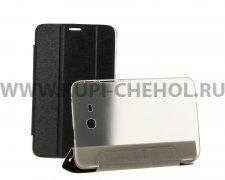 Чехол откидной Samsung Galaxy Tab 3 7.0 Lite T110 Trans Cover чёрный