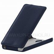 Чехол флип Huawei Ascend Y635 UpCase синий