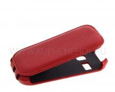 Чехол флип Alcatel One Touch 4033D Derbi красный