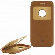 Чехол книжка Apple iPhone 7/8 Baseus Brown