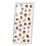 Чехол-накладка Samsung Galaxy Note 10+ Kruche Print Cake