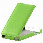 Чехол флип Highscreen Pure F UpCase зелёный