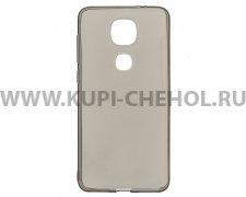 Чехол силиконовый LeEco Le2s Pro / LEX720 серый глянцевый 0.3mm