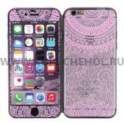 Защитное стекло Apple iPhone 6 4.7 9339 2 в 1 розовое