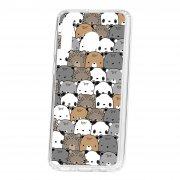 Чехол-накладка Samsung Galaxy M30 Kruche Print Медвежата