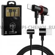 USB Apple iPhone 5 Baseus CALTX-01 Black 1м