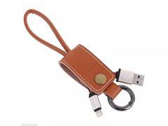 Кабель-брелок USB-iP Remax Western RC-034i Brown
