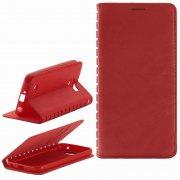 Чехол книжка LG K4 LTE K130E New Case 001 красный