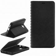 Чехол книжка Xiaomi Redmi 4 New Case 001 черный
