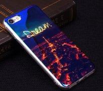 Чехол-накладка iPhone 7 Blue Shine 10435