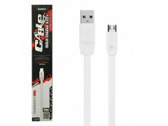 Кабель USB-Micro Remax RC-001m White 2m