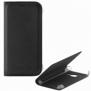 Чехол книжка Samsung Galaxy J1 mini 2016 П43078 черный