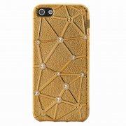 Чехол-накладка Apple iPhone 5/5S/SE 9430 бронзовый
