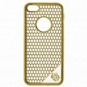 Чехол-накладка Apple iPhone 5/5S 9450 золотой