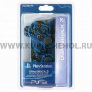 Джойстик Sony Dualshock 3 черно - синий