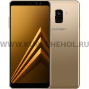 Телефон Samsung A730F Galaxy A8+ DS Gold