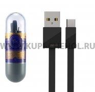 Кабель USB-Type-C Remax RC-105a Black 1m