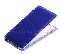 Чехол  откид  Huawei G700  UpCase  син