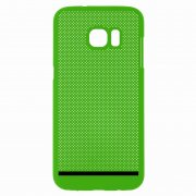Чехол-накладка Samsung Galaxy S7 Edge П19035 зеленый