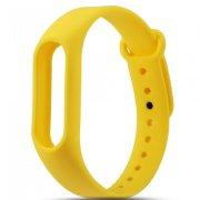Ремешок для Xiaomi Mi Band 2 жёлтый