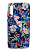 Чехол-накладка Xiaomi Mi 9 SE Luxo Flowers H9 фосфор