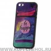 Чехол-накладка iPhone 5/5S Be happy