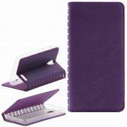 Чехол книжка Lenovo A319 Book Case New фиолетовый Вид2