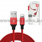 USB Apple iPhone 5 Baseus CALYW-09 Red 1.2м