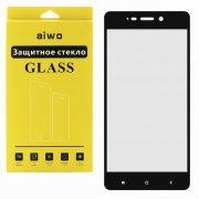 Защитное стекло Xiaomi Redmi 4 Aiwo Full Screen черное 0.33mm