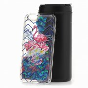 Чехол-накладка Apple iPhone 6/6S Lovely stream Lux Flamingo in flowers