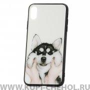 Чехол-накладка iPhone XS Max Husky