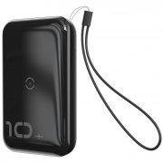 Power Bank 10000 mAh Baseus Mini Wireless Black